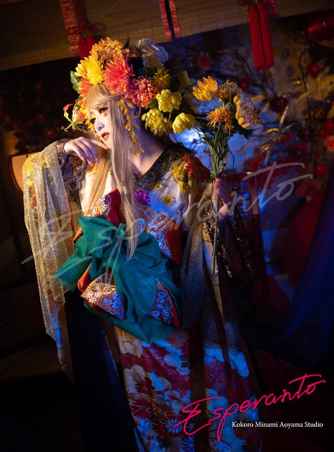 変身写真 菊宮妃