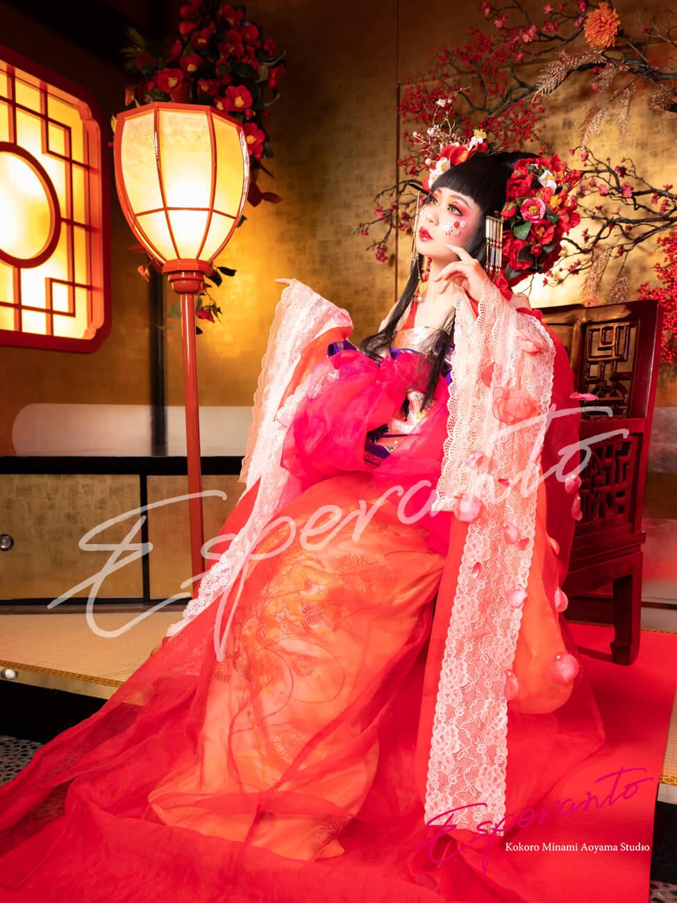 椿雪姫 変身写真