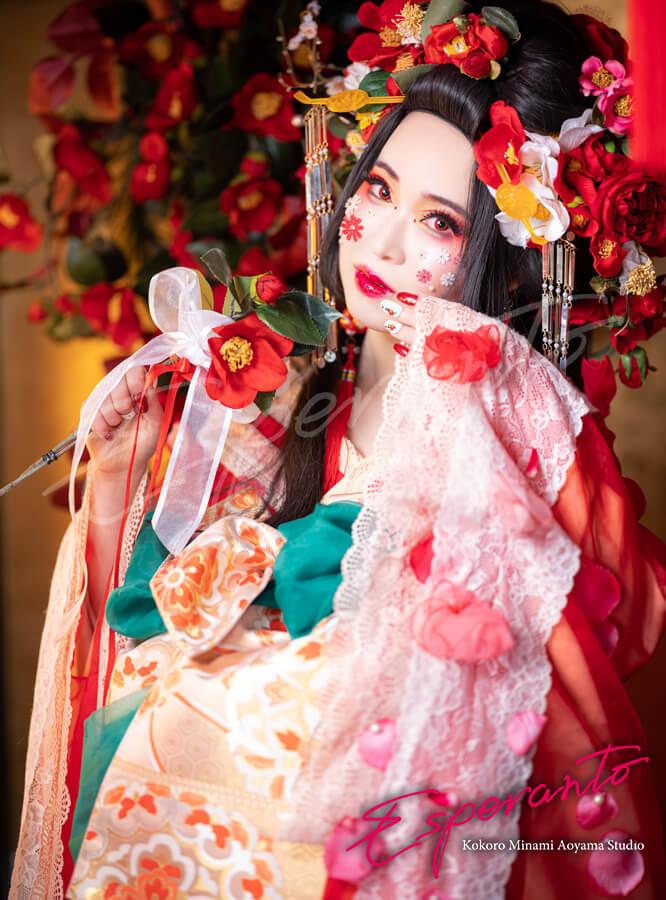 変身写真 椿雪姫