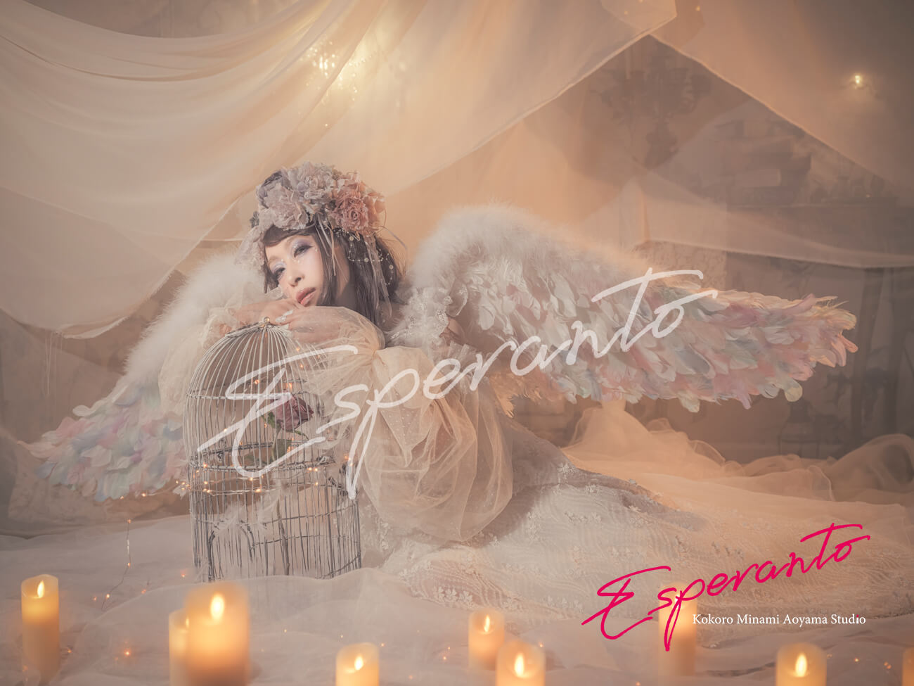 天使 変身写真