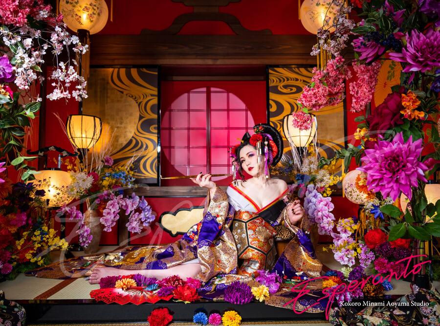東京 花魁体験