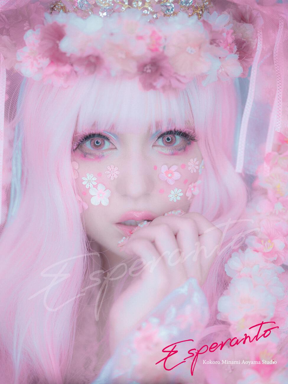 桜漢服ロリィタ